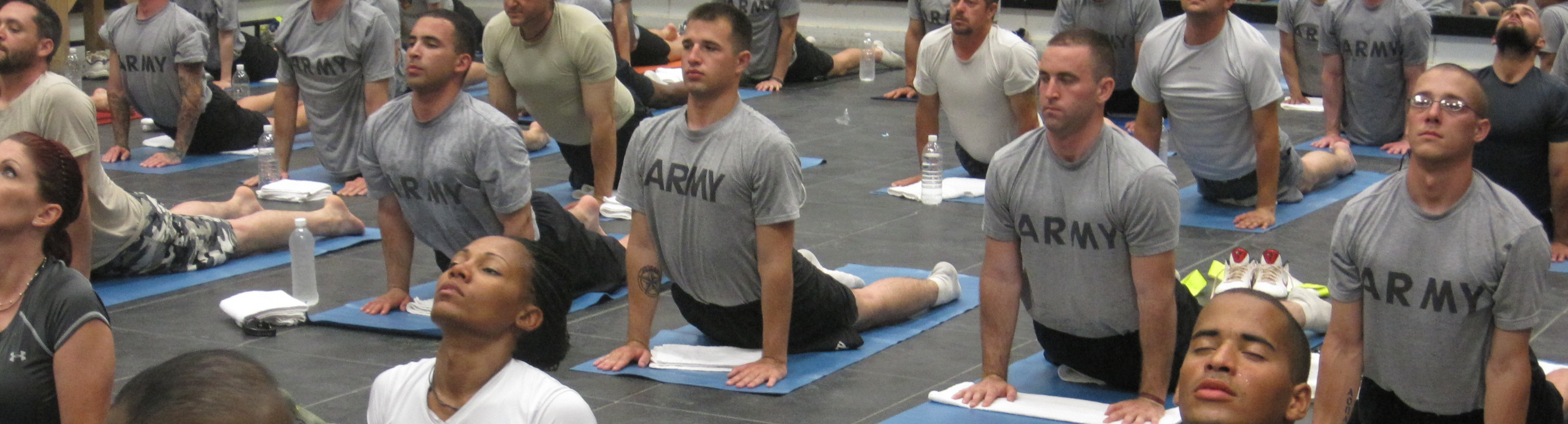 Yoga for Veterans at SYF2014