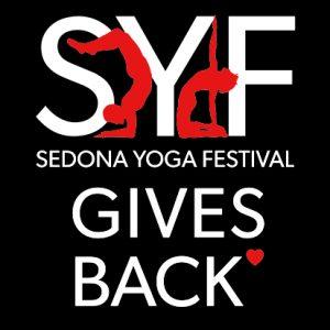 SYF Gives Back logo