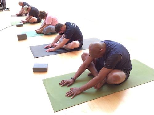 fire yoga fold