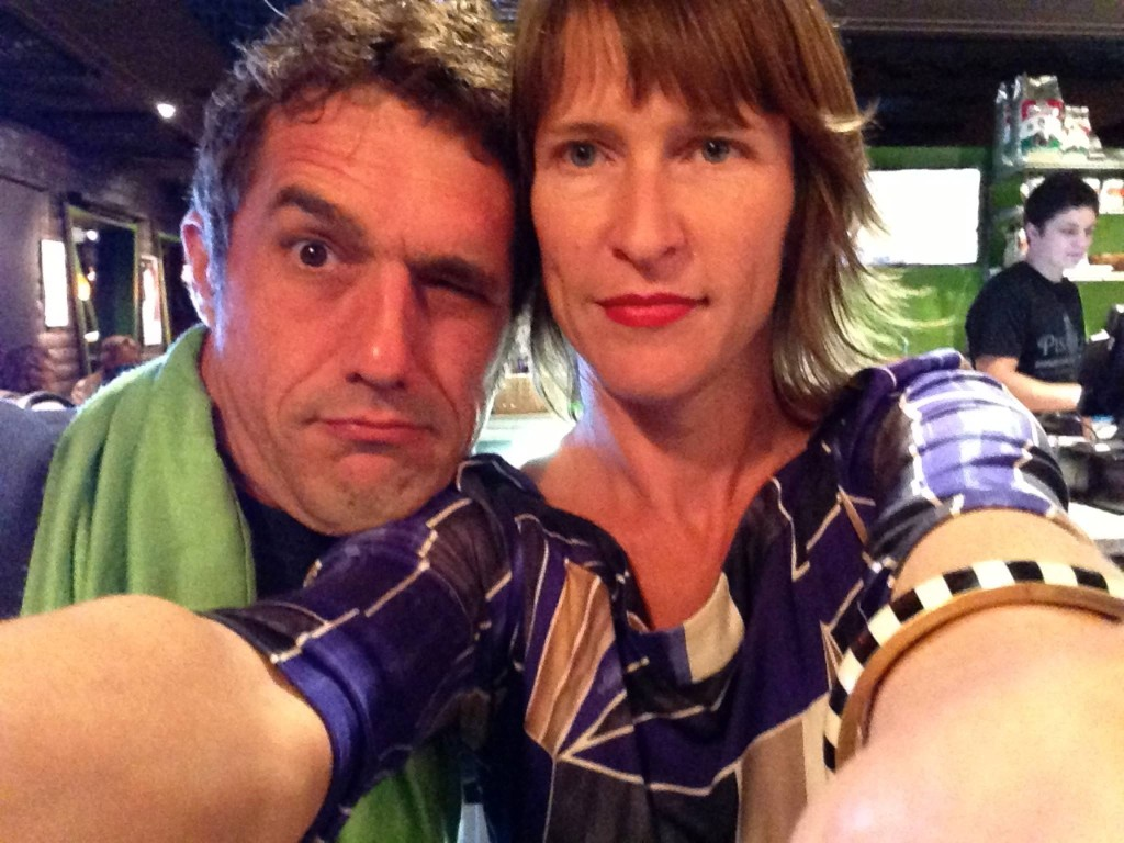 Marc and Heather Pondering