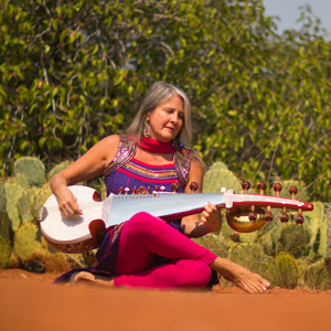 "Space of Grace: Sound Healing on the Red Rocks w/Valerie ""Sanjali"" Irons"